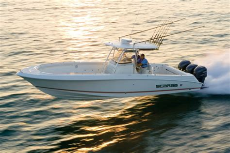scarab boats fishing research wellcraft boats 35 scarab sport center console