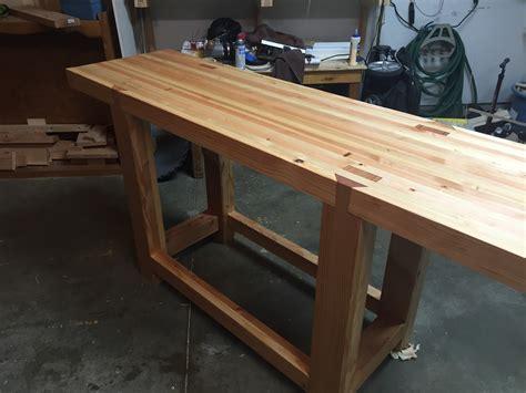 david barron furniture customer roubo bench