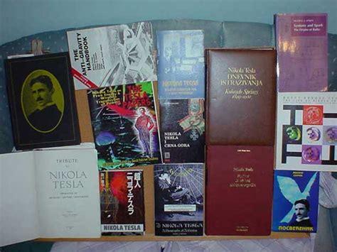 nicola tesla book tesla books