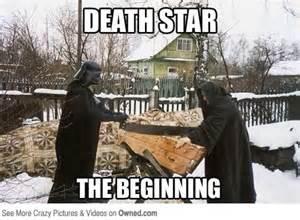 Death Meme - death star the beginning funny war meme image