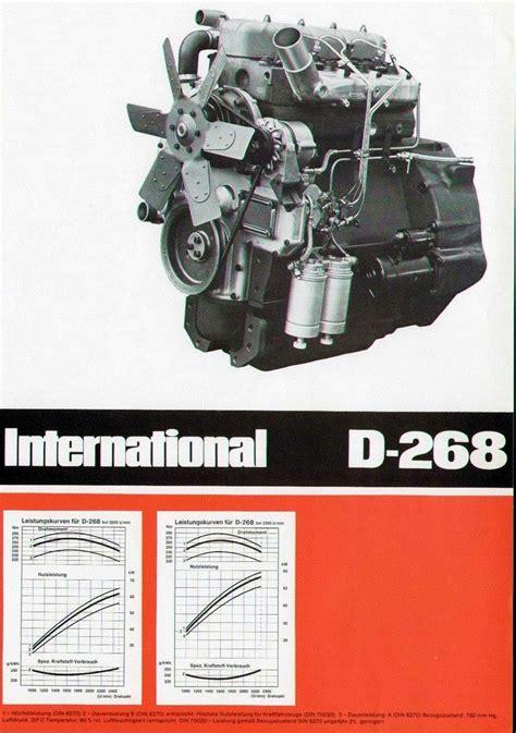 IHC Motor D-268 D And D Motors