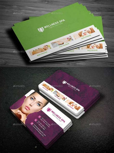 business card template salon 20 best salon and spa business cards designmaz