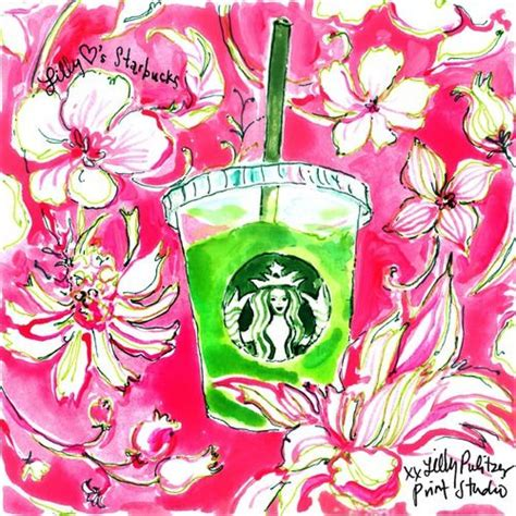 lily pulitzer starbucks lizzy maimone lily pulitzer pop art and starbucks