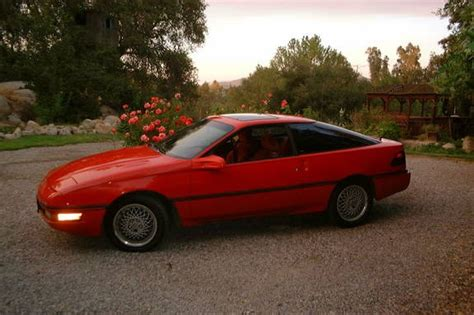 1990 ford probe red 200 interior and exterior images