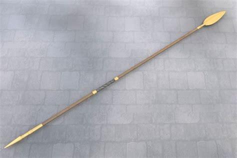 Goliath Table by 3d Model Ancient Greek Spear 3d Model Obj Fbx Blend