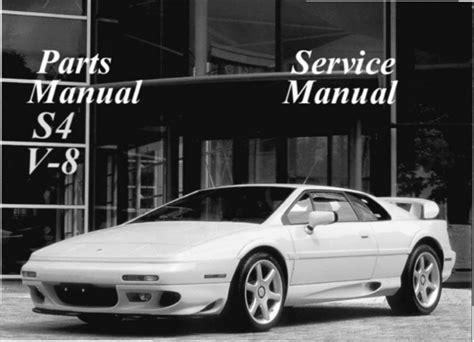 1997 lotus esprit service manual free download service manual 1985 lotus esprit service manual lotus esprit s4 v8 service repair manual 1993 1998 download man