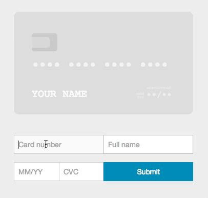 Credit Card Format Jquery Ember Credit Card