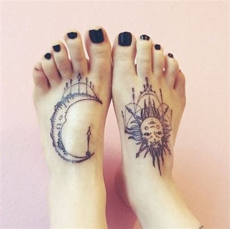 sun foot tattoo 103 best images about sun and moon tattoos on