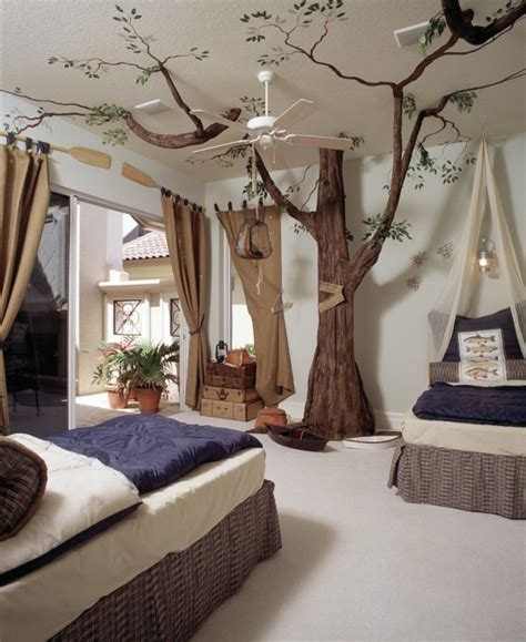 boy schlafzimmer dekorieren ideen kinderzimmer gestalten кreative und farbenfrohe decke