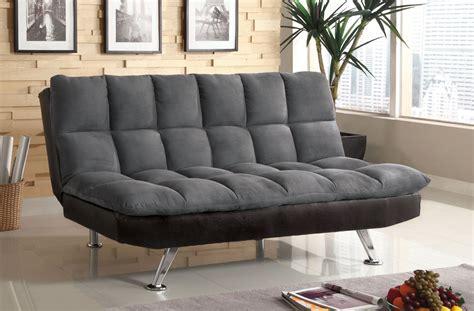 futons orange county nando gray microfiber futon sofa bed orange county
