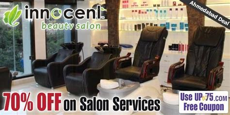 salon coupons chennai innocent beauty salon ahmedabad coupons deals offers 2018
