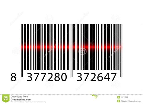 advance stock pattern scanner 2 0 barcode with laser beam royalty free stock images image