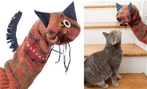 cat sock puppet the world s catalog of ideas