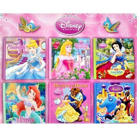 a princess books disney princess mini books pack of 6