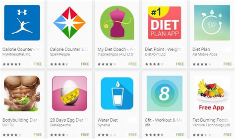 best diet top 10 best android diet apps to stay healthy fit 2017