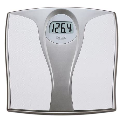 taylor digital bathroom scale taylor lithium digital bathroom scale from kohl s