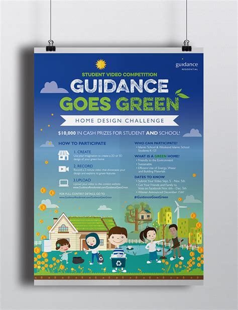 Design Competition Guidance | guidance goes green home student design competition on