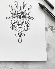 tattoo eye flash third eye bleeding heart tattoo flash design by nico di