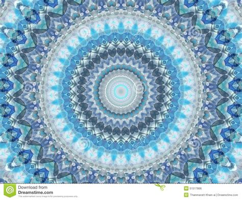 blue kaleidoscope wallpaper abstract blue background