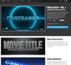 fcpx trailer templates pixel studios releases proteaser teaser trailer