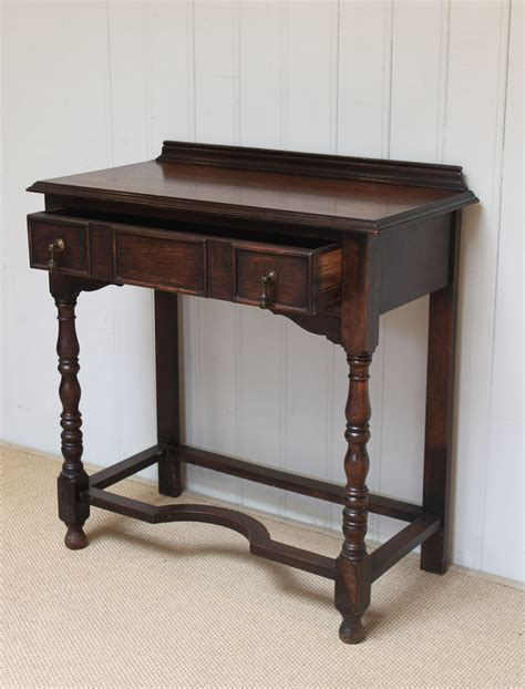 Vintage Hallway Table 1920s Solid Oak Table Antiques Atlas