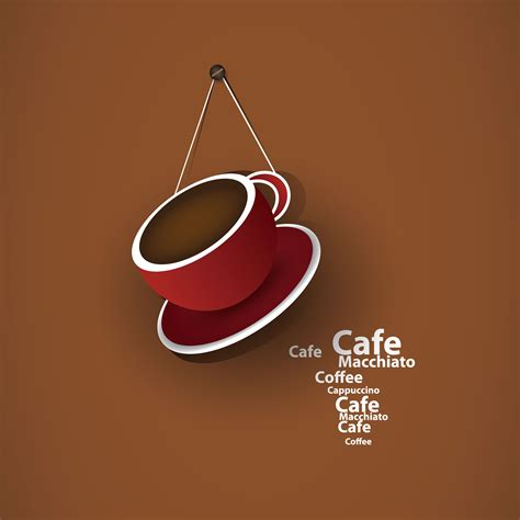 coffee cafe wallpaper vector exquisite cafe vector background vector background free