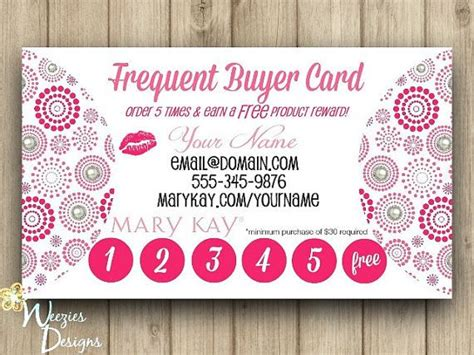 frequent buyer card template frequent buyer card business card by