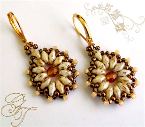 beaded earrings patterns free free pattern for earrings tea magic bloglovin