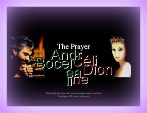 the prayer testo andrea bocelli mi manchi cover