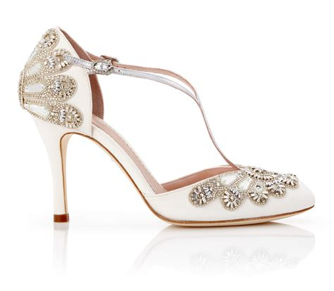 hochzeit schuhe braut emmy bridal shoe collection arabia weddings