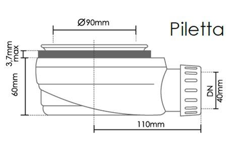 montaggio piletta doccia piatto doccia rettangolare in mineral marmo ebay