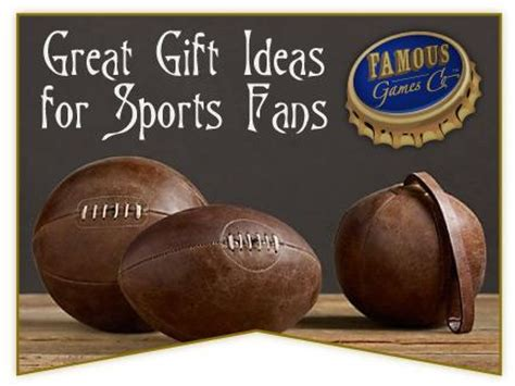 Great Gift Ideas For The Sporty great gift ideas for the special sports fans in your