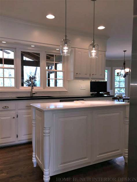 ideas on painting kitchen cabinets before after kitchen reno with painted cabinets home
