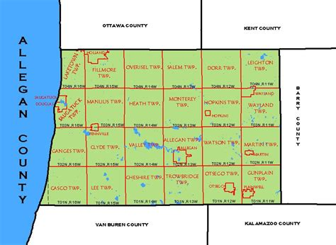 history and directory of kent county michigan containing a history of each township and the city of grand rapids the name location and postoffice in the county a schedule of populat books cf map allegan county