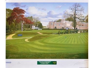 volvo pga mullock s auctions 1997 volvo pga golf chionship