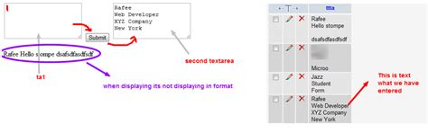 format date echo php php display textarea format on echo from database