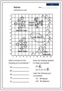 Coordinates mathematics skills online interactive activity lessons