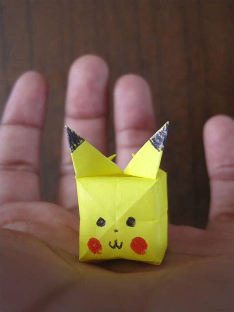 How To Make An Origami Pikachu Step By Step - origami step by step comot