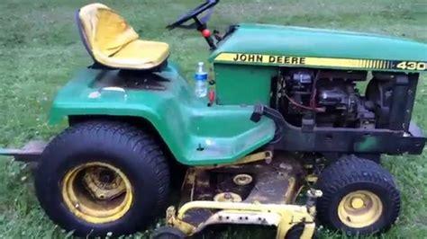 Diesel Garden Tractor by Deere 430 Diesel Garden Tractor