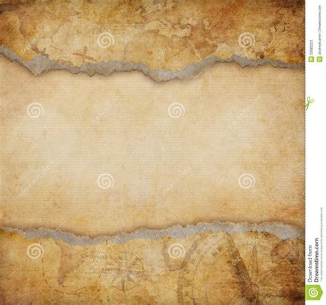 torn map background stock  image