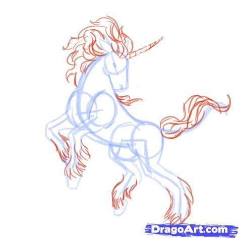 doodle how to make unicorn how to draw unicorns step 7 drawing