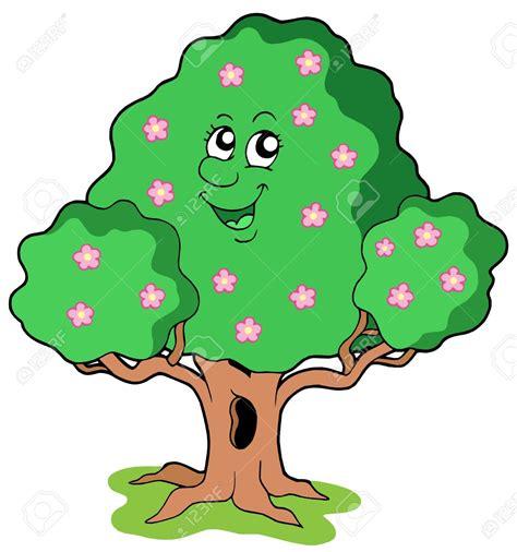 alberi clipart smiling tree clipart