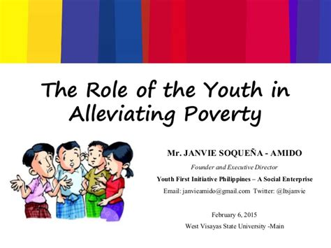 Of Youth In Nation Building Essay by The Of The Youth In Alleviating Poverty