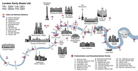 river thames attractions map thames river map