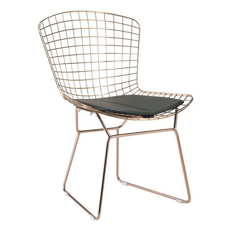 zuo black mesh wire outdoor chair cushion 188004 the