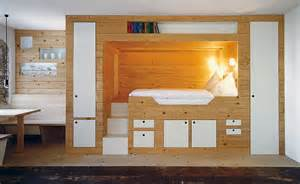 cabin bed storage interior design ideas