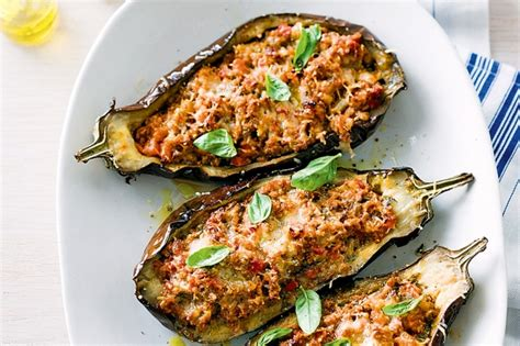 stuffed eggplant gallery vegetarian stuffed eggplant recipes