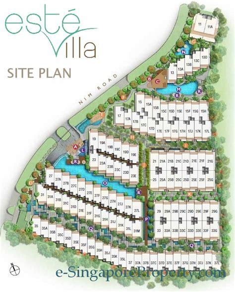 Cluster Home Floor Plans by Este Villa Floor Plans Este Villa Cluster Houses