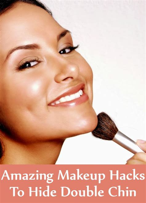 best hair and makeup for double chins 5 amazing makeup hacks to hide double chin find home