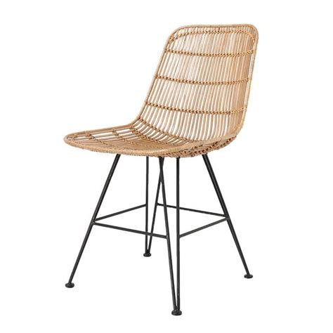 stuhl rattan scandi style rattan dining chair in home